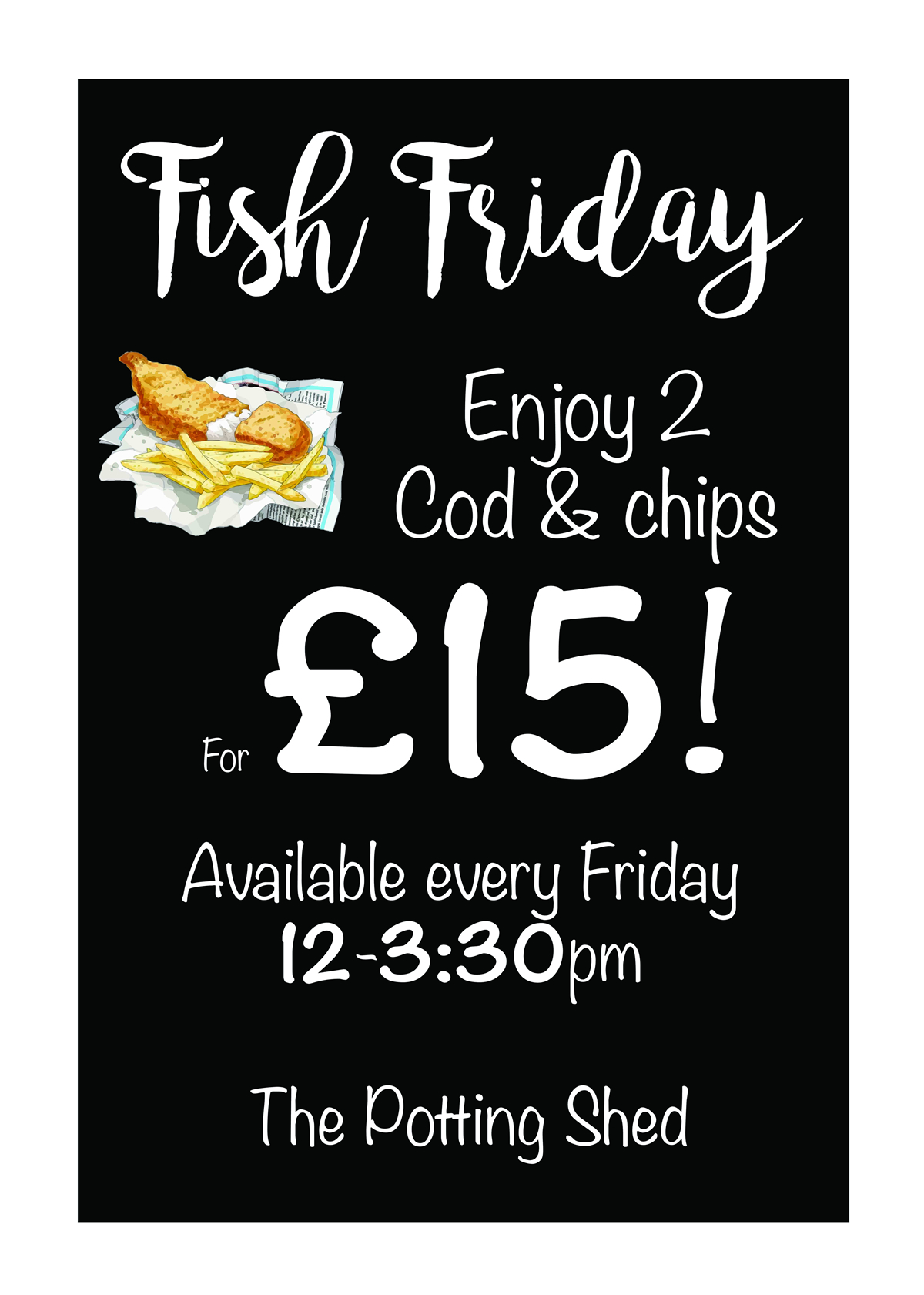 Fish Friday Offer
